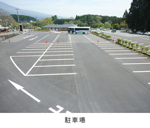 Shiraito Falls Parking Area