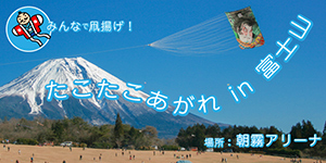 第18回 たこたこあがれin富士山