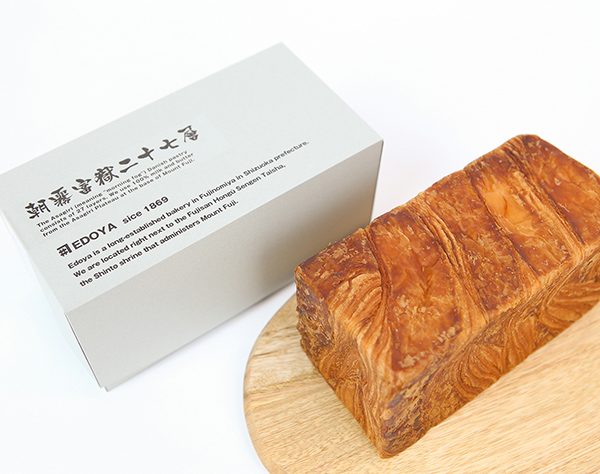 朝霧富嶽二十七層デニッシュ食パン