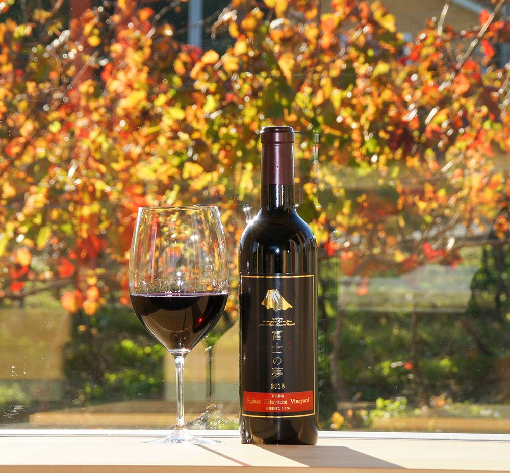 富士山北山ワイン 赤ワイン「富士の夢」